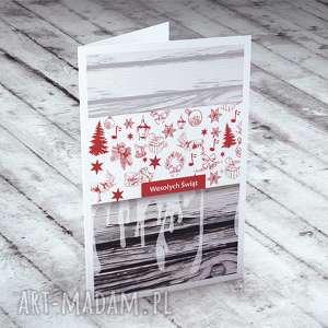 ręcznie zrobione pomysł na prezenty święta karteczka zdobiona autorską