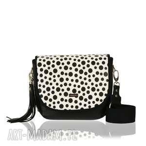 handmade torebki torebka puro saszka 2429 black polka dots