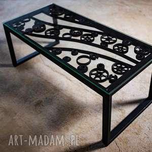 stół, ława industrialna, ława, kawowy, industrailny, metalowy, unikatowy
