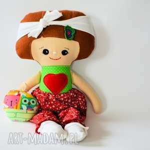 Lalka Dobranocka - Ula 47 cm, lalka, dobranocka, szmacianka, komplet, ubranka