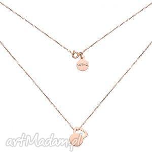 handmade naszyjniki naszyjnik z różowego złota kettlebell