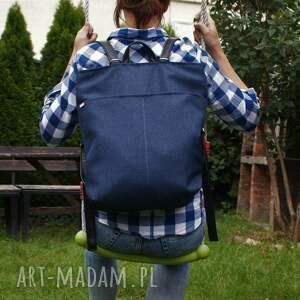 rowelove simple granat czerń, plecak, vegan, eko, torba, podróż, bagaż
