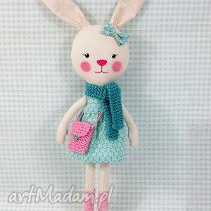 Prezent KRÓLICZKA AMELIA, króliczka, zabawka, przytulanka, prezent, niespodzianka