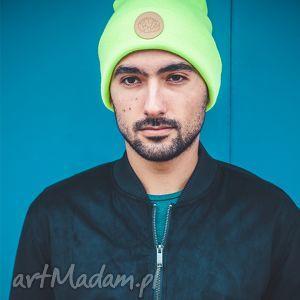 wyjątkowe prezenty, czapki alternatywny neon sport, jesień, zima, czapka