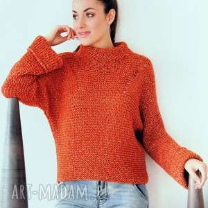 Prezent Sweter Nimes, sweter, wełniany, ciepły, prezent, dziergany