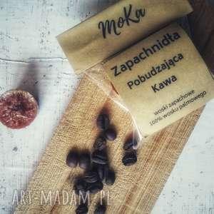 hand made świeczniki zapachnidła - woski zapachowe pobudzająca kawa