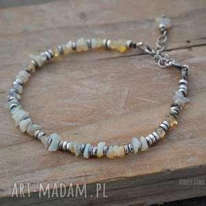 bransoletki etiopski opal welo bransoletka, opal, etiopski, welo, delikatna, srebrna