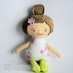 lala fruzia - hania 25 cm, lalka, urodziny, dziewczynka, szmacianka, chrzest