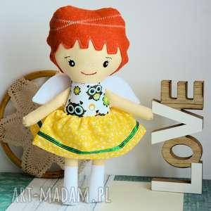 Aniołek stróż - asia 35 cm lalki maly koziolek lalka, aniołek,