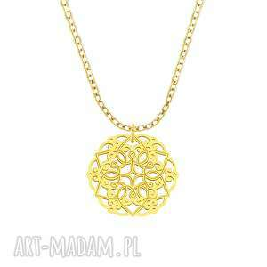 celebrate -rosette - necklace g, celebrate, celebrytka, rozeta biżuteria