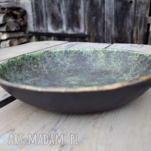 ceramika duża misa stary las, ceramika, misa, kuchnia, miska, patera, dekoracja