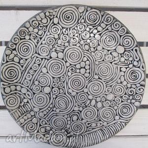 aztecka patera zamówienie, aztecka, ceramiczna, patera, talerz
