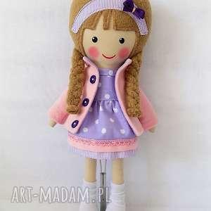 Prezent MALOWANA LALA SARA, lalka, zabawka, przytulanka, prezent, niespodzianka,