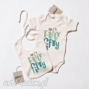 yurcov fifty komplecik niemowlęcy eko, eco, organic, body, niemowlece