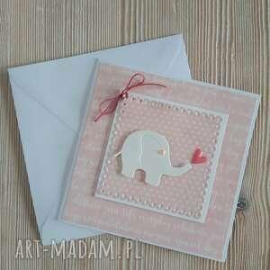 m art a kartka ze słonikiem do personalizacji, słoń, urodziny, słonik