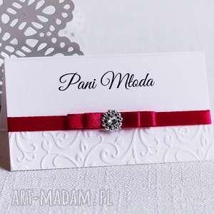 ślub winietki na stoły weselne, ślub, winietki, wstążka, cyrkonia, tłoczone