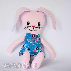 Zając Kicak - Kasia (haft) 45 cm, zając, królik, maskotka, zabawka, kolorowa