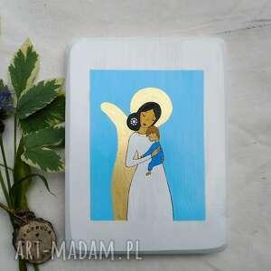 dla dziecka obrazek na chrzest święty rezerwacja, anioł stróż