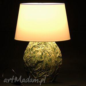 lampa ceramiczna z motywem konia, lampa, ceramiczna, podstawa, lampka, nocna