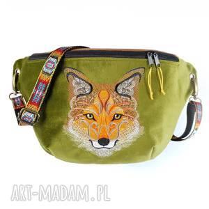 cda420a270ff8 Zielone torebki. Handmade na ramię