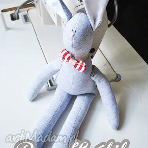 pan królik szmacianka przytulanka, prezent, urodziny, chrzciny