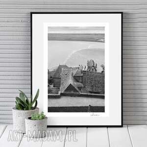 fotografie autorska fotografia analogowa, mont saint michel, francja, zdjęcie