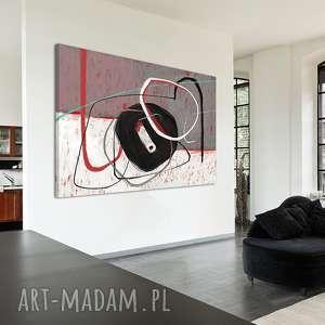 Obraz na płotnie - 120x80cm ABSTRAKCJA 0227 wysyłka w 24h, wydruk, abstrakcja, obraz
