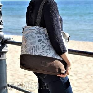 handmade na ramię lekka i poręczna torba miejska