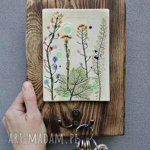 wieszaki wieszak na klucze kwiaty polne, wieszak, klucze, wieszaczek