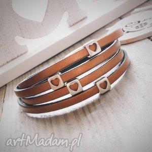 ręcznie zrobione bransoletki bransoletka skórzana sabiha
