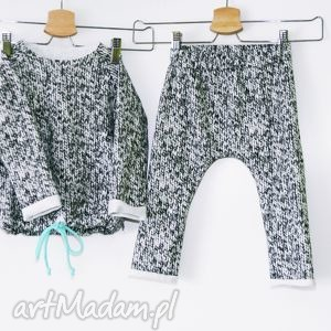 Dresik - print sweterkowy felicjagato dresik, bluza, spodnie