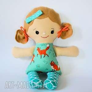 cukierkowa lala - luiza 40 cm, lalka, lisek, las, dziewczynka, roczek