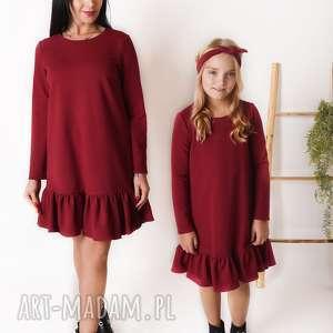 latori - sukienka dziewczęca z kolekcji mama i córka ld49/3, sukienka, corka