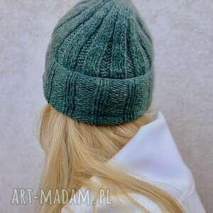 czapka z alpaki, ciepłaczapka, nadrutach, jesienna, naprezent