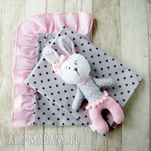 pokoik dziecka pościel dziecięca do łóżeczka/wózka 120x70 zając lub poduszka