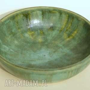 misa zielona, misa, patera, ceramika, glina, rękodzieło dekoracje, pod choinkę