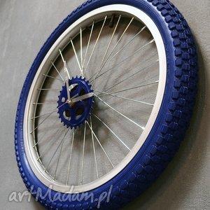 Prezent Zegar Blue Boy, zegar, zegarek, prezent, chłopak, rower, ścienny