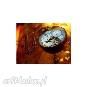 handmade zegarki drobina czasu (golden)