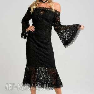 Melissa koronkowa midi sukienka sukienki my image art sukienka