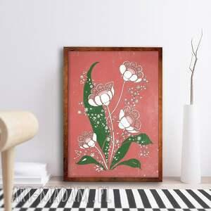 kwiaty 50x70cm, plakat, kwiaty, obraz, sztuka, ilustracja, bukiet