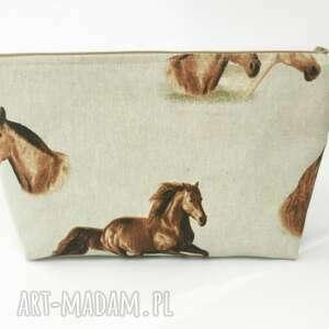 handmade kosmetyczki konie