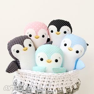 handmade zabawki pingwinek