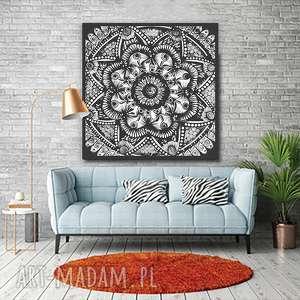 Mandala 50x50cm, plakat, plakaty, obraz, mandala