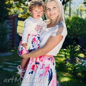Spódnice lynette - komplet mrugala mama i-córka, spódnice