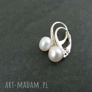 Kolczyki perełki, perły