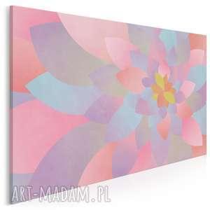 Obraz na płótnie - PŁATKI ABSTRAKCJA 120x80 cm (66301), płatki, abstrakcja