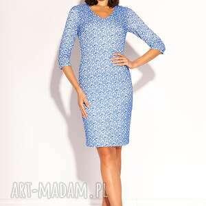 sukienki sukienka hana, koronkowa, ołówkowa, uniwersalna, oryginalna, stylowa