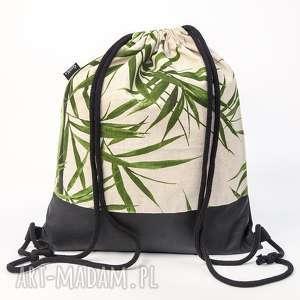 święta, bambusowy, bambus, worek, workoplecak, plecak, lniany