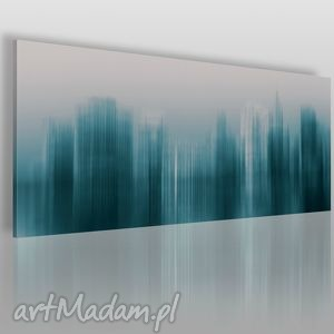 Obraz na płótnie - abstrakcja nowy jork 120x50 cm 05401 vaku