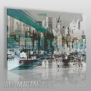 handmade obrazy obraz na płótnie - nowy jork miasto - 120x80 cm (29601)